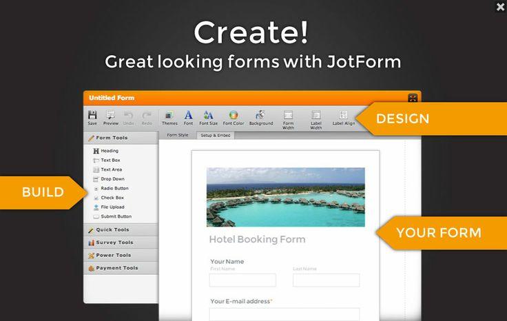 Welcome to the JotForm!JotForm · Form Builder JotForm's form builder ...