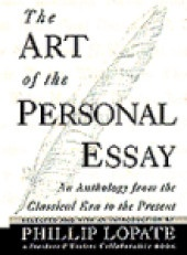 Art of the personal essay contents
