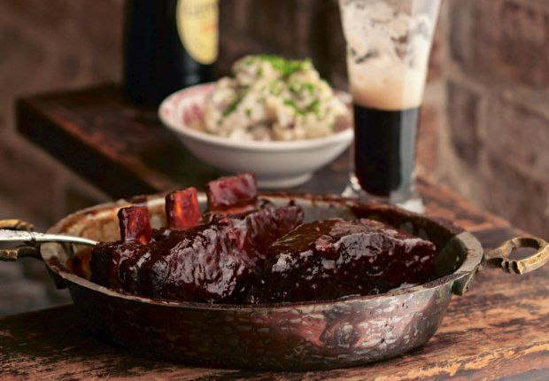 Braised Beef Short Ribs With Guinness Recipe Feb 12, 2014 1:00 pm ...