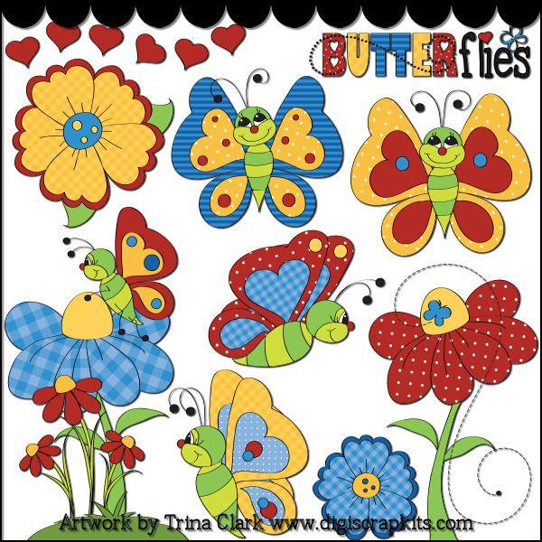 Butterflyin перерисованы 1 клипарт - Нажмите на картинке чтобы закрыть