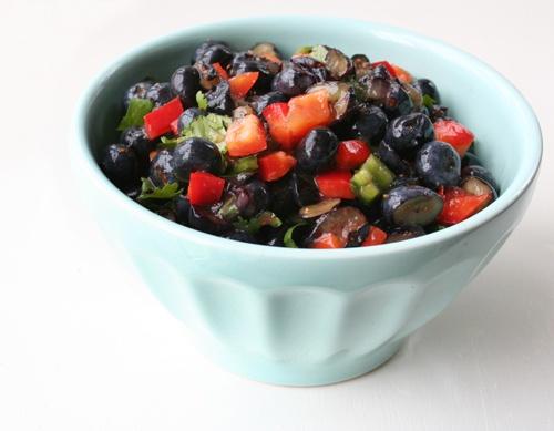 Watermelon Blueberry Salsa Recipes — Dishmaps