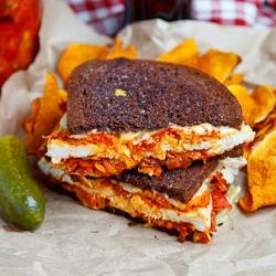 The Kimchi Rachel Sandwich (aka Roast Turkey Reuben Sandwich wit