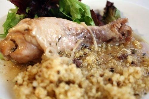 Plan to Eat - Slow-Cooker Garlic Chicken | Main Dish. | Pinterest