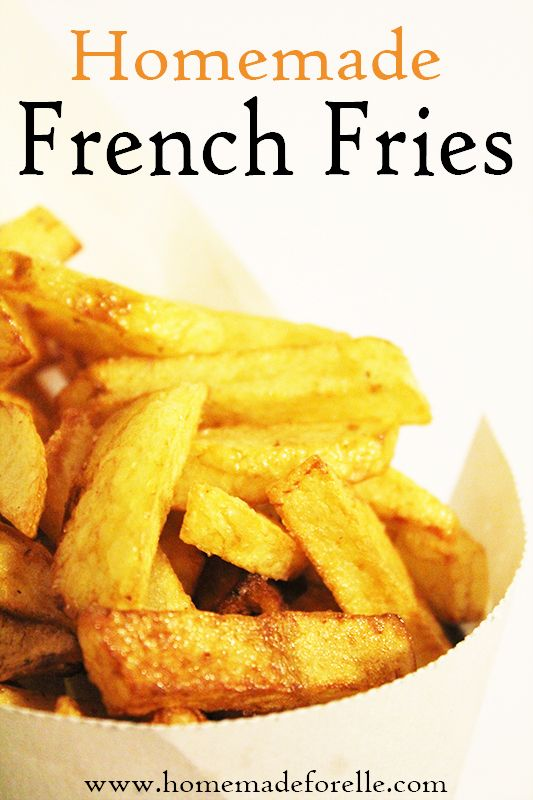 homemade french fries | Favorite Recipes | Pinterest