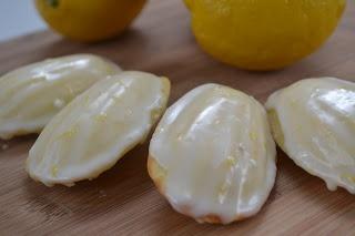 Glazed Lemon Madeleines | Food and Drink | Pinterest