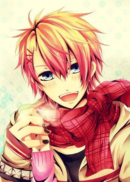 Cute Anime Guy Anime Guys Pinterest