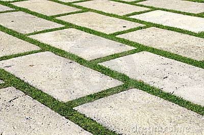 Paving stones in grass a la ron thom homey pinterest for Paving planner