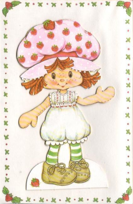 Vintage Strawberry Shortcake | STRAWBERRY SHORTCAKE & FRIENDS! | P ...
