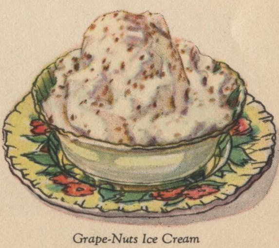 ice_cream #jello Grape-Nuts Ice Cream from ...In No Time Make ...