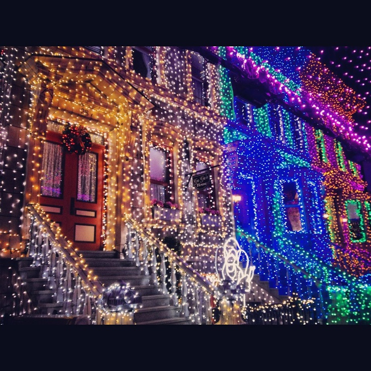 casas decoradas en navidad holiday lights pinterest