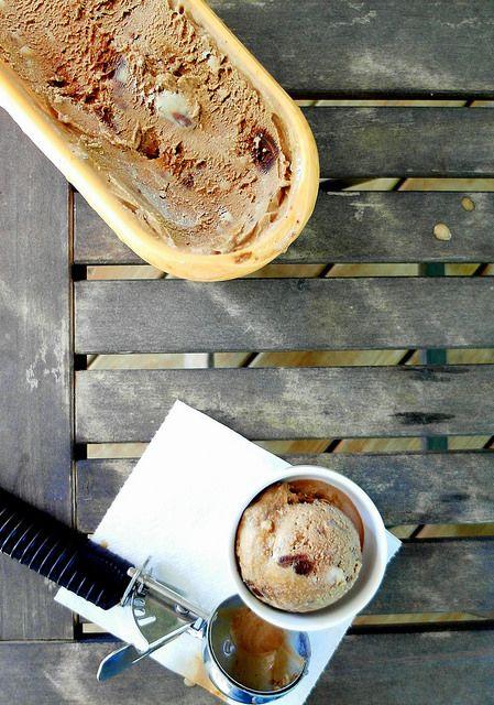 Spiced Chocoflan Coffee Ice Cream | Jeni's Splendid Ice Creams at Home