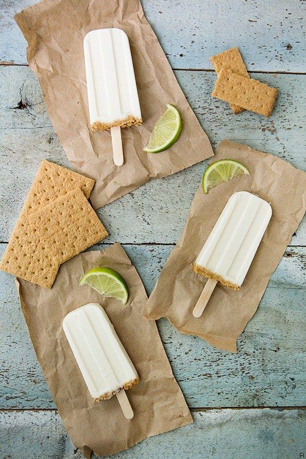 Key Lime Pie Pops | Heavenly Ice Cream | Pinterest