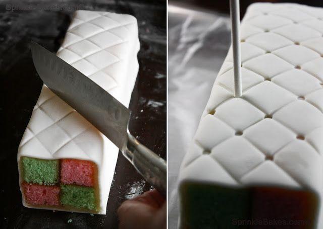 battenburg cake | sweet treats | Pinterest