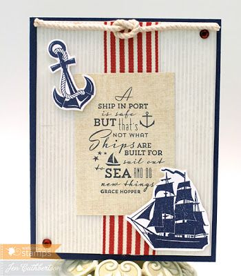 Crafty, Be Crafty!: using Ocean Bound stamps and Safe Harbour ...