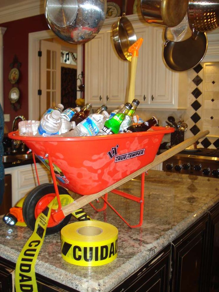 construction party baby shower party ideas