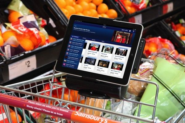British supermarket chain tests iPad-ready shopping carts