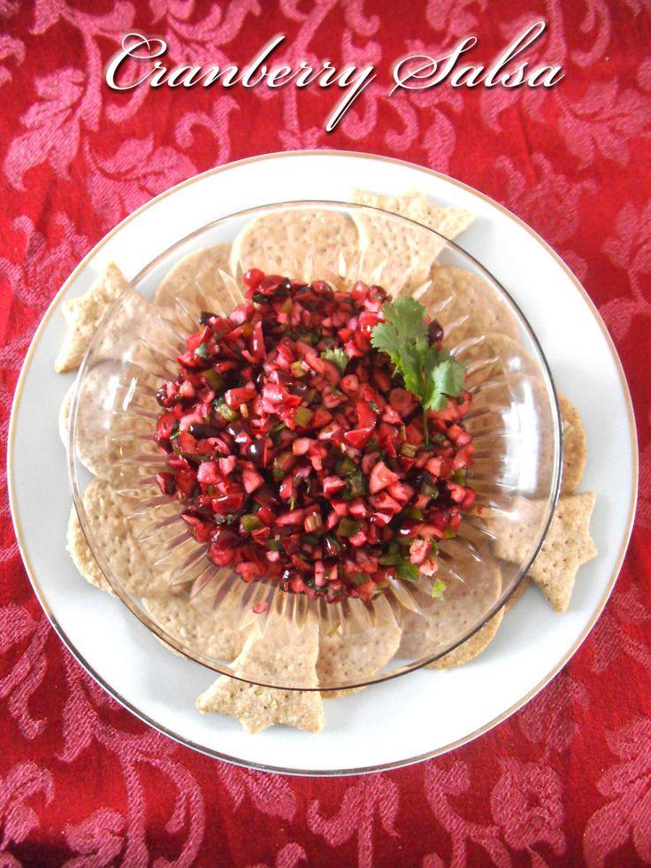 Cranberry Salsa | Eats | Pinterest