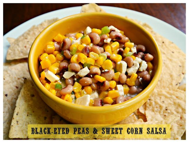 Black Eyed Peas & Sweet Corn Salsa | Recipes to try | Pinterest
