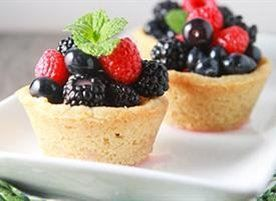 Sugar Cookie Berry Cups | Recipe