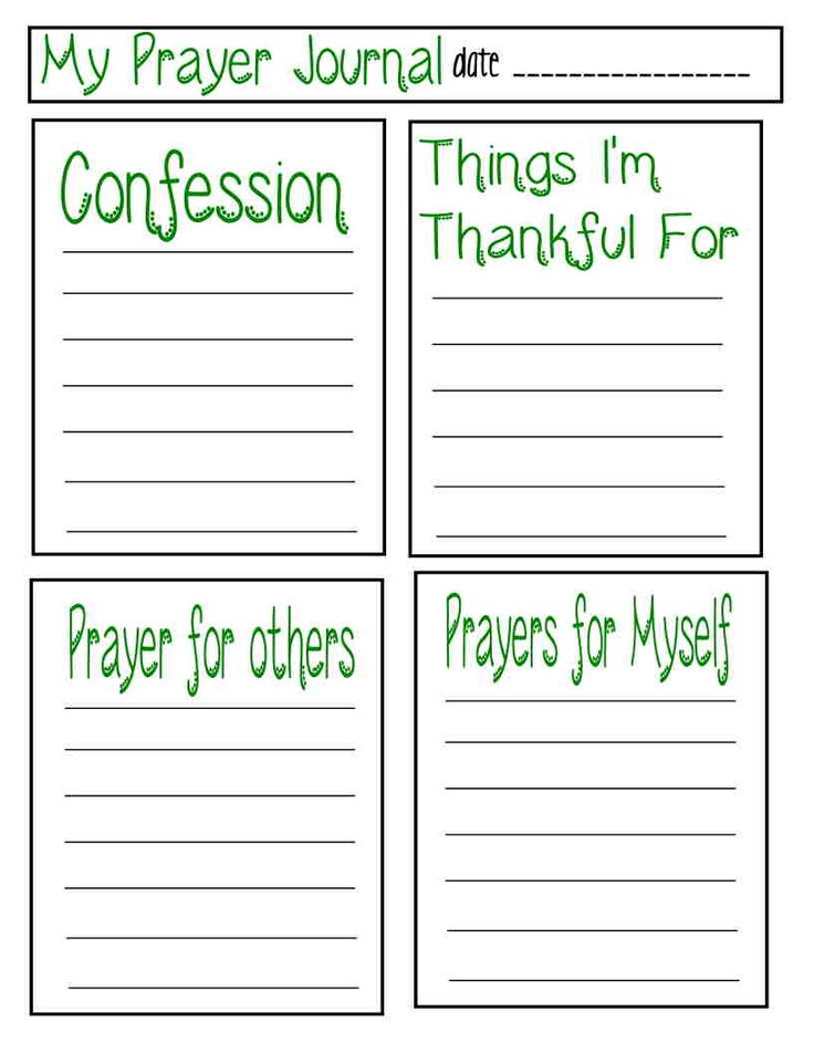 prayer journal coloring pages - photo#22