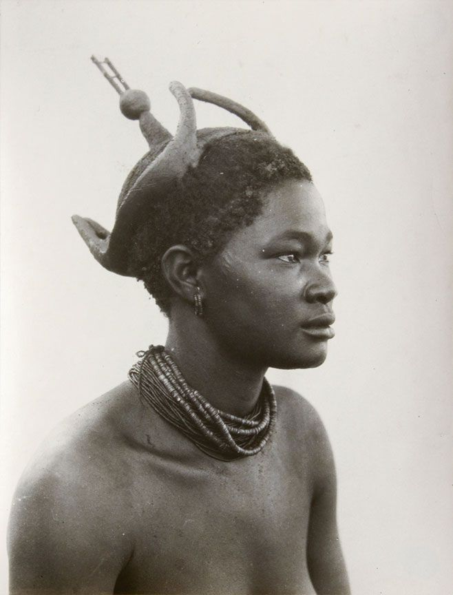 Ukuanyama woman, South West Africa (now Namibia).  1936 | ©A.M Duggan-Cronin