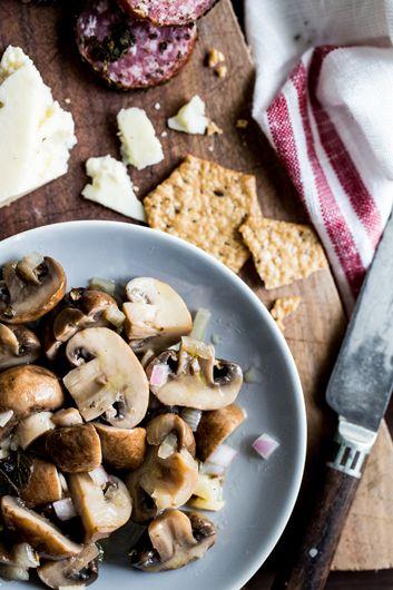 How To Make Easy Marinated Mushrooms
