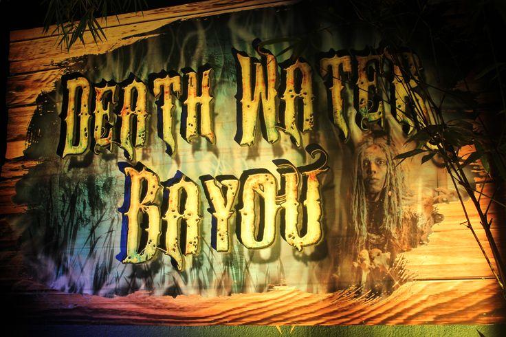 Death Water Howl o Scream Busch Gardens