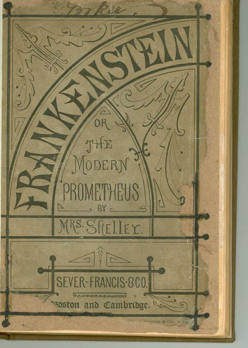 reading journal on mary shellys frankenstein How frankenstein's monster became human with letters and pages ripped from journals books, frankenstein, mary shelley essential reporting.