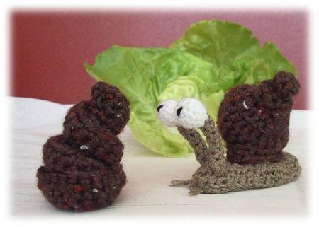 Tutorial Caracol Amigurumi Snail : escargot-crochet Crochet DIY & projets Pinterest