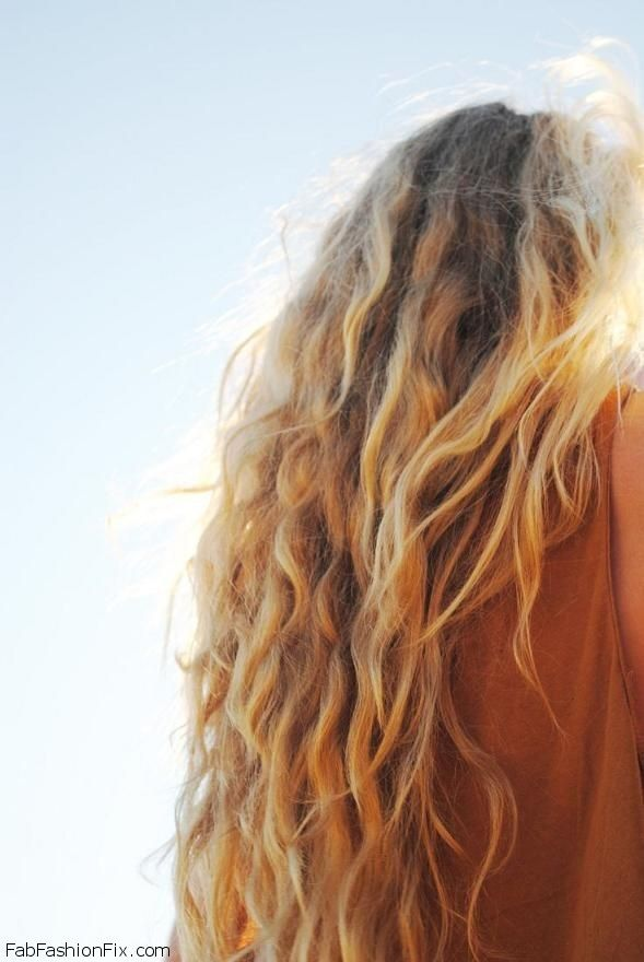 best hairstyle for fat face : Beach Waves Hairstyle Hairstyle inspirations Pinterest