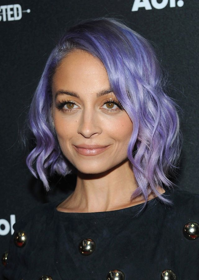 Nicole Richie Dyes Her Hair Blue | Beauty High