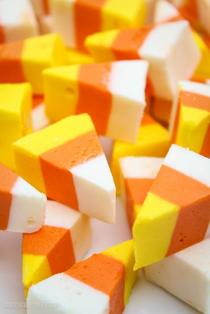 Candy corn fudge! | Things to Bake | Pinterest