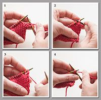 How To: Elastic Bind Off - YouTube