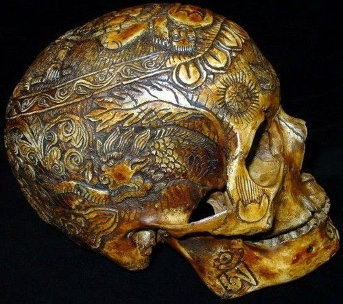 Carved human skull odd things i want antiques pinterest