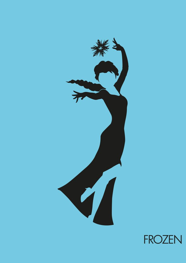 Gallery For > Elsa Silhouette Clipart