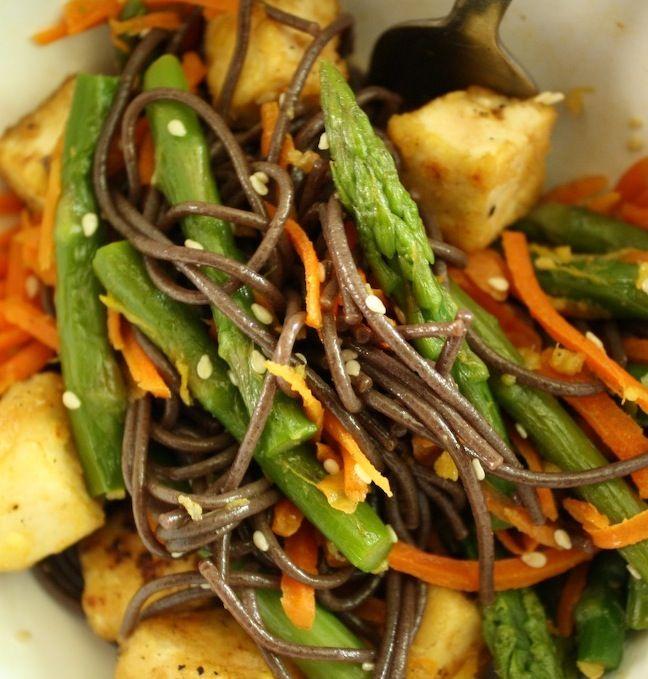 Japanese cold soba noodle recipe - mmm! | Pasta - V / GF | Pinterest