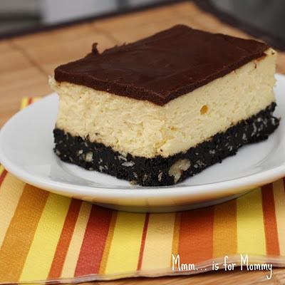 Nanaimo Bar Cheesecake... drool! | Things to cook | Pinterest