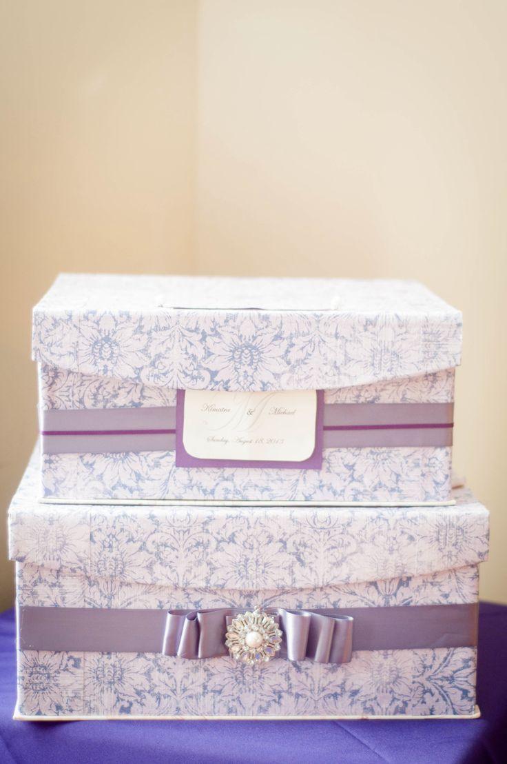 Box For Wedding Gift Cards Diy : Wedding Cards