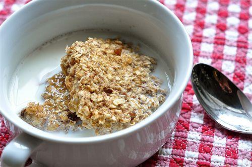 Apple Pie Baked Oatmeal | Food | Pinterest