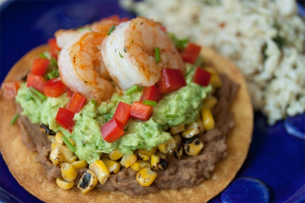 Avocado Shrimp Taco | Foods That Look Scrumptious! | Pinterest