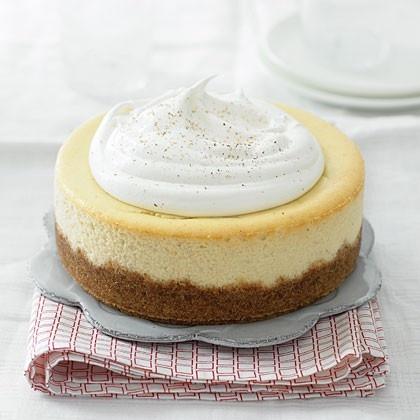 Eggnog Cheesecake | Christmas | Pinterest