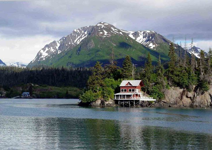 Alaskan cottage vacation home dream home pinterest for Alaska cottage