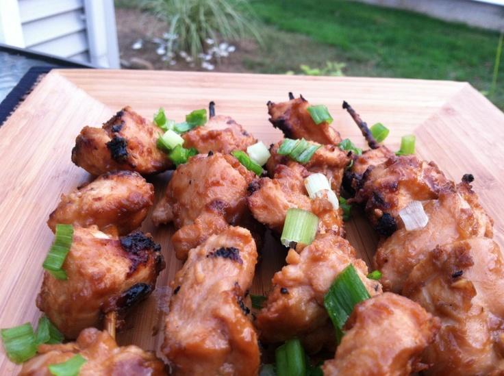 Chicken Satay Skewers | Thyme For Menus | Pinterest
