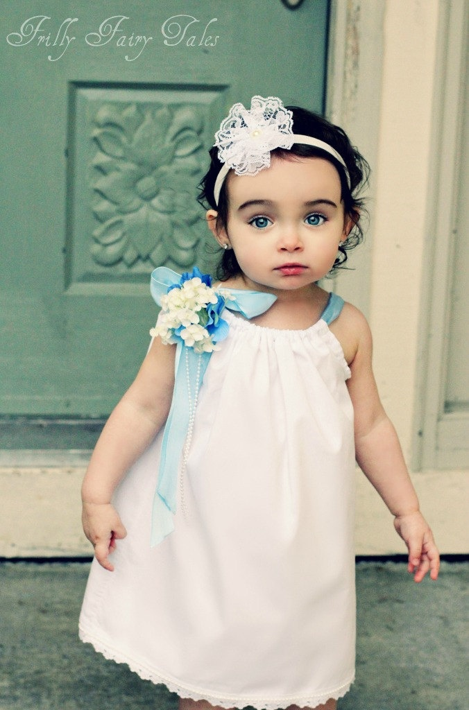 Casual flower girl dress katie 39 s wedding ideas pinterest for Casual flower girl dresses for beach wedding