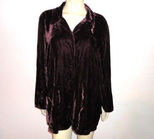 Silk Velvet Blouse 6