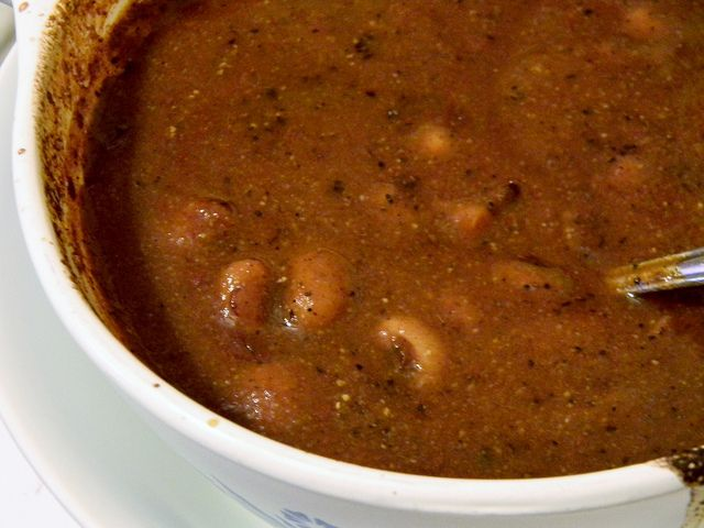 Sweet n' Spicy Baked Beans by jazzijava, via Flickr