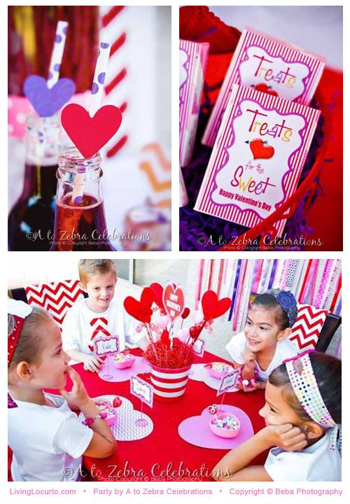 Valentines Day Party Ideas and free printables featured on ...