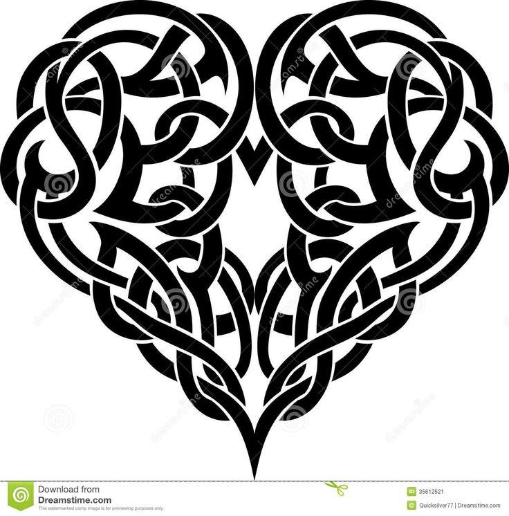 Celtic heart | Relish the pain | Pinterest