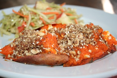 Twice-Baked Sweet Potatoes with Dukkah...the original recipe from ...
