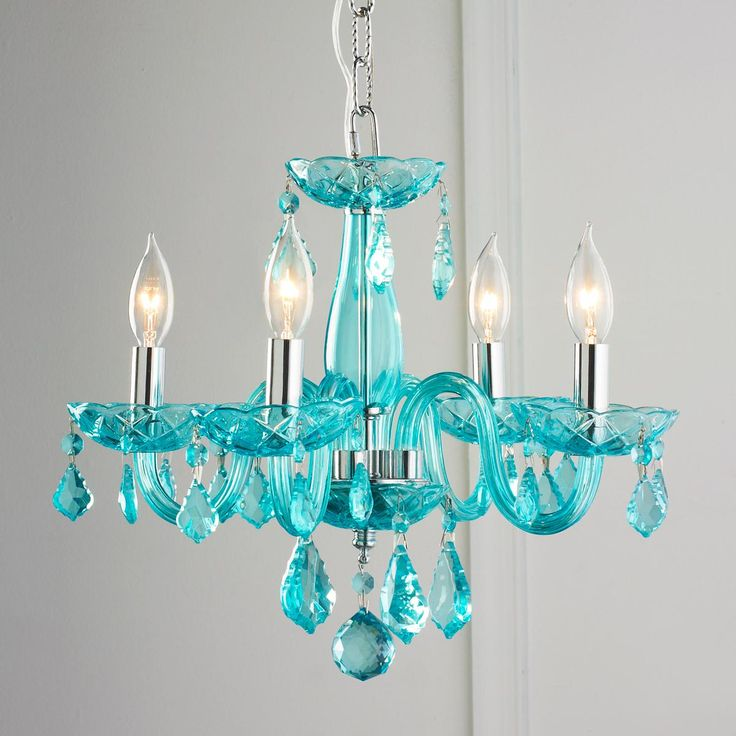 color mini chandelier available in 7 colors black